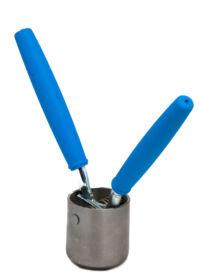 Kézi kupakzáró előremenetelt PP31,5-ös olajos csavarzárhoz