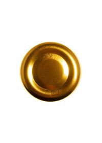 TO 38 (x12 mm) arany szörpösüveg lapka