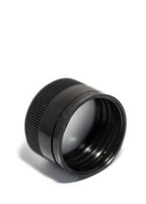 PP 31,5x24 fekete műanyag csavarzár