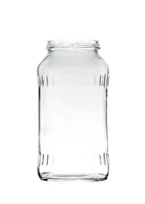 720 ml TO 66 magas Facett befőttesüveg