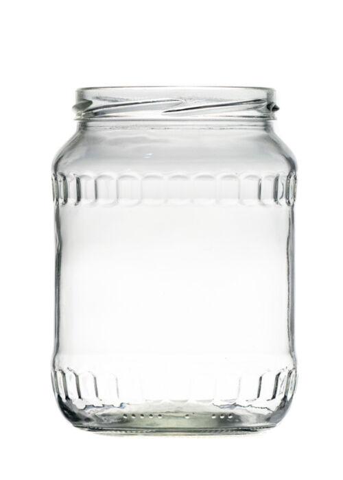 720 ml TO 82 Facet befőttesüveg