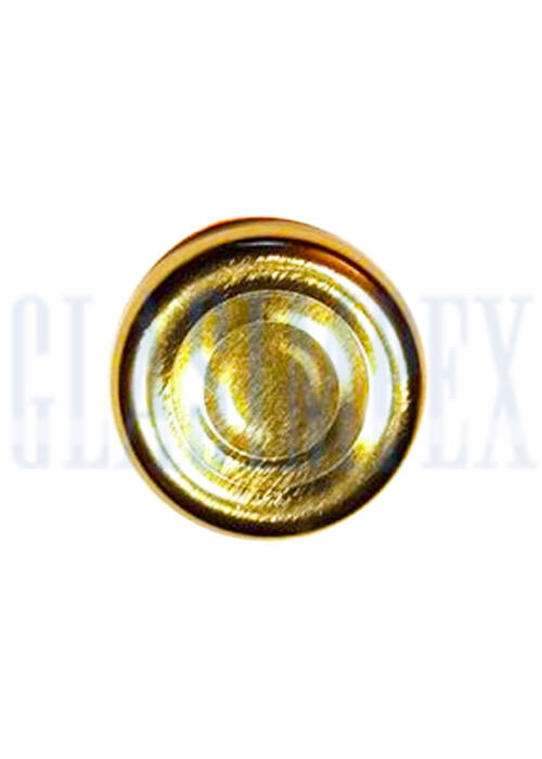 TO 38 (x12 mm) arany vákumos szörpösüveg lapka