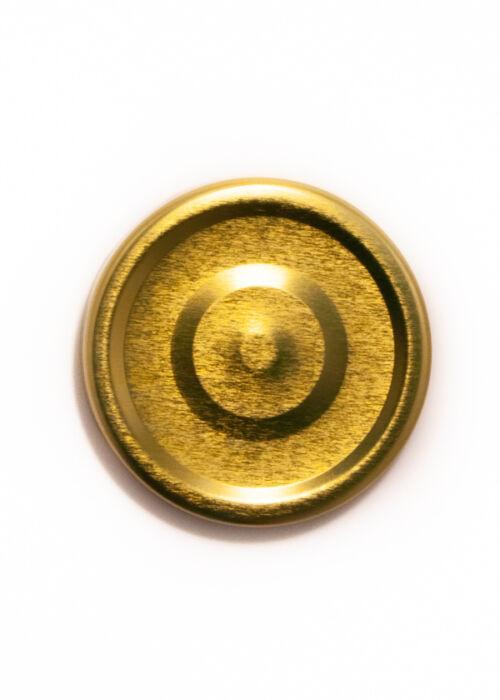 TO 70 DEEP arany vákumgombos lapka