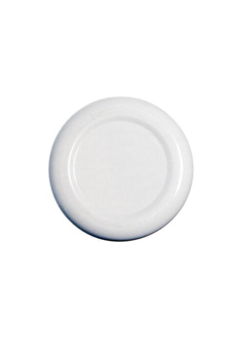 TO 38 (x12 mm) fehér szörpösüveg lapka