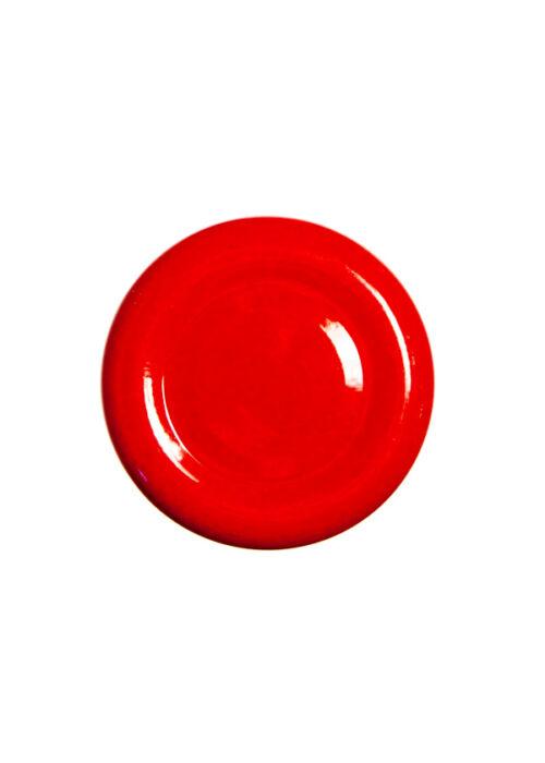 TO 38 (x12 mm) piros szörpösüveg lapka
